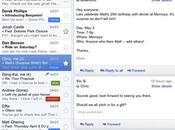 version Gmail dédiée l'iPad disponible