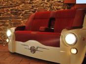 SEAT recyclée canapé studio