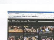 Marjorie CARPREAUX site officiel