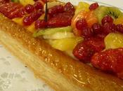 Tarte feuilletée fruits