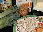 mange quoi demain? gratin poireaux Nectaire