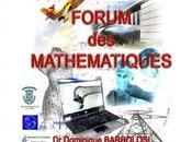 Forum Mathématiques salle fêtes Biguglia aujourd'hui demain programme.
