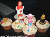 Cupcakes Earl Grey Rose... pays merveilles