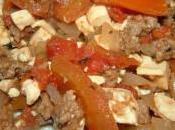 Chili cone carne tofu
