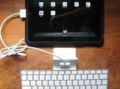Astuce Utiliser l'iPad mode paysage avec clavier