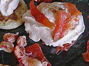 Chantilly tomates siphon saumon fumé