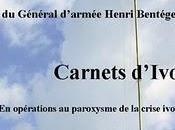Carnets d'Ivoire entre opérations réflexions