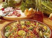 Salade printemps jambon fumé