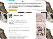 JIMMY CHOO TRAINER HUNT luxe débarque Foursquare avec Jimmy Choo