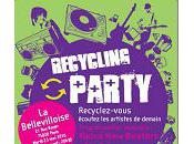 Recycling Party Tour concert déchets electroniques
