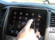 Tuning auto: intégration l'iPad dans tableau bord