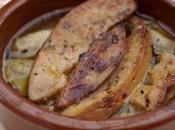 Huîtres foie gras, fait