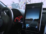 support auto pour iPad vidéo
