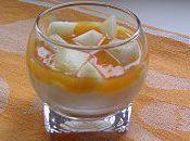 Verrine poire abricot