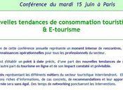 conférence annuelle Raffour nouvelles tendances consommation touristique E-tourisme juin 2010