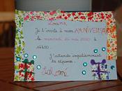création cartes d'invitation d'AnnIveRsAirE!!!!!!