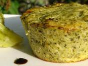 Petits flans brocolis parmesan