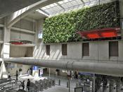 Transilien SNCF inaugure premier végétal dépolluant