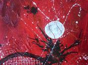 Peinture abstraite tennis