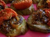 aubergines confit d'oignon figues