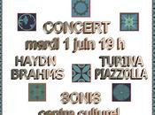 TRIO SOLARE Concert juin 2010