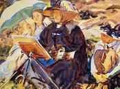John Singer Sargent Peintre américain -Partie Aquarelliste, paysagiste toujours portraitiste