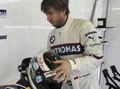 Nick Heidfeld pilote d'essais pneumatiques