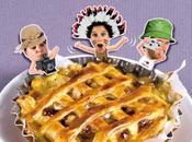 Miam Expo. passait œuvres d'art préférées casserole TOURTE EIFFEL Tourte camembert, pommes miel