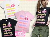 Jelly Belly Hello kitty t.shirts