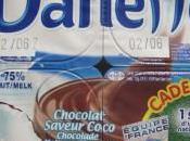 Danette chocolat saveur coco l'équipe France