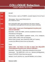 """Discours d'ouverture colloque Sidaction """"VIH prison"""""""