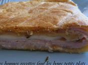 Feuilleté Familial Jambon Blanc Mozza