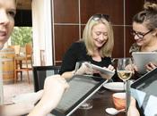 L'iPad guise menu dans restaurant Sydney