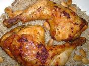 Poulet mchermel marocaine