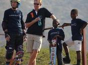 Skateboard legend tony hawk presents 'half-pipe' south african children