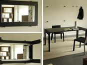 table miroir