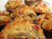 Muffins salés olives jambon