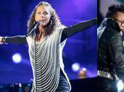 John Legend, Alicia Keys Black Eyed Peas ouvrent