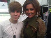 Justin Bieber sous charme Cheryl Cole