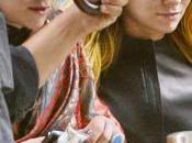 Mary Kate Ashley Olsen colorent cheveux jaune rose