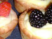 minis tartes framboises