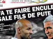 Nicolas Anelka Raymond Domenech dérapage verbal limite hors-jeu