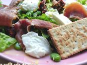Salade italienne fèves sans lait gluten