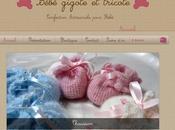 jolies créations Bébé gigote tricote