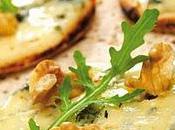Apéritif dinatoire, idées mini pizza apéritif bleu noix