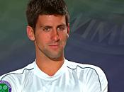 Wimbledon 2010 Vidéo Interview Novak Djokovic (25/06/2010)