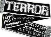 Terror l'Underworld Montréal 24/06/2010