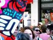 Manifestation Forte mobilisation pour retraites