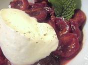 Cerises sautées Vanille, Cardamome; Crème Yaourt d'après Arzak
