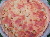 Tarte rhubarbe Mamie